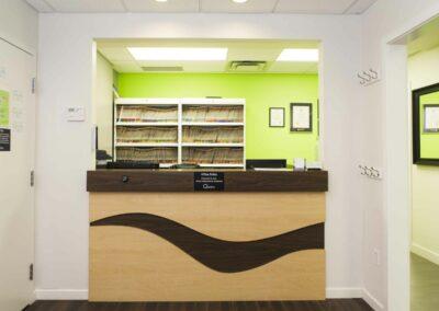 queens-park-dental-reception-desk
