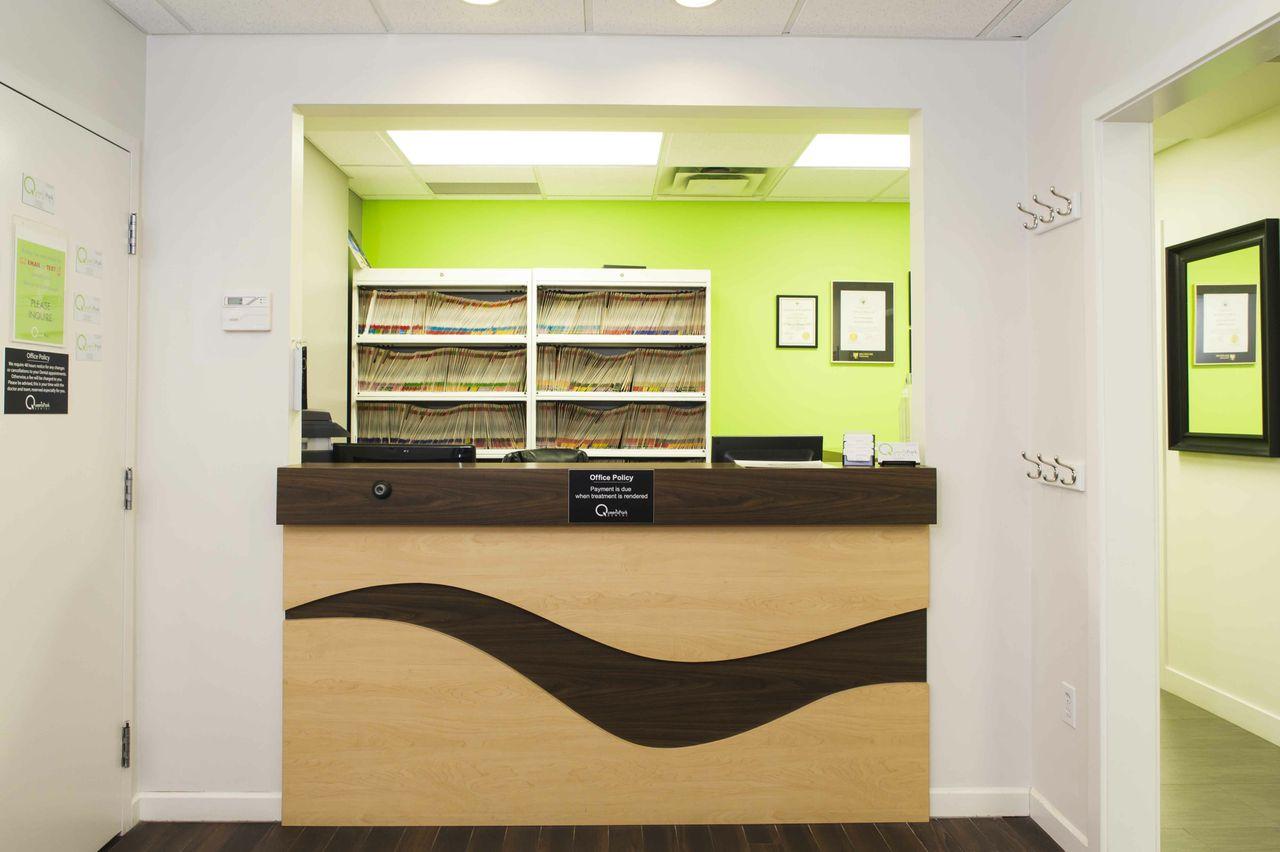 office reception desk. Dental Office Reception. Queens-park-dental-reception-desk Reception Desk