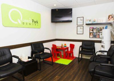 Queen's Park Dental Waiting Area